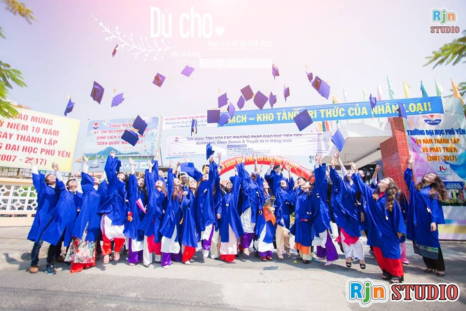 Chụp ảnh kỷ yếu Tuy Hòa, Phú Yên tại RJN